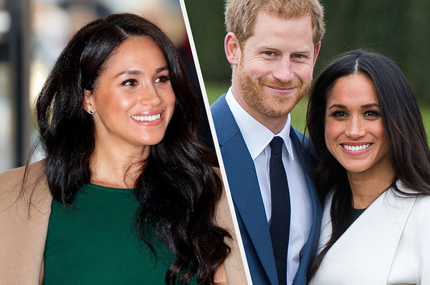 Meghan Markle Casually Rewore Her Engagement ...