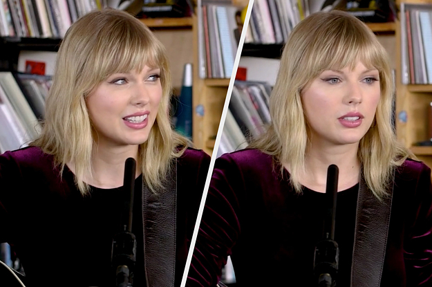Taylor Swift Said Questions About Her Sad Songs Were Detrimental To Her Mental Health