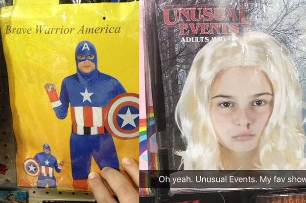 17 Knockoff Halloween Costumes That Are Doing Hilariously Bad Impressions