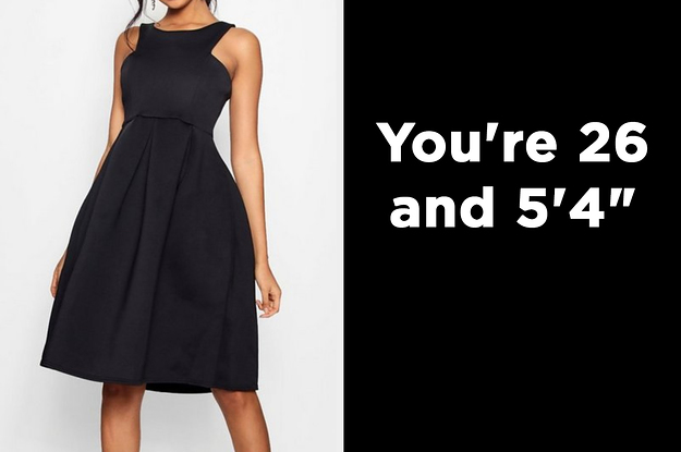 Pick 7 Black Dresses And We'll Guess Your Age And Height