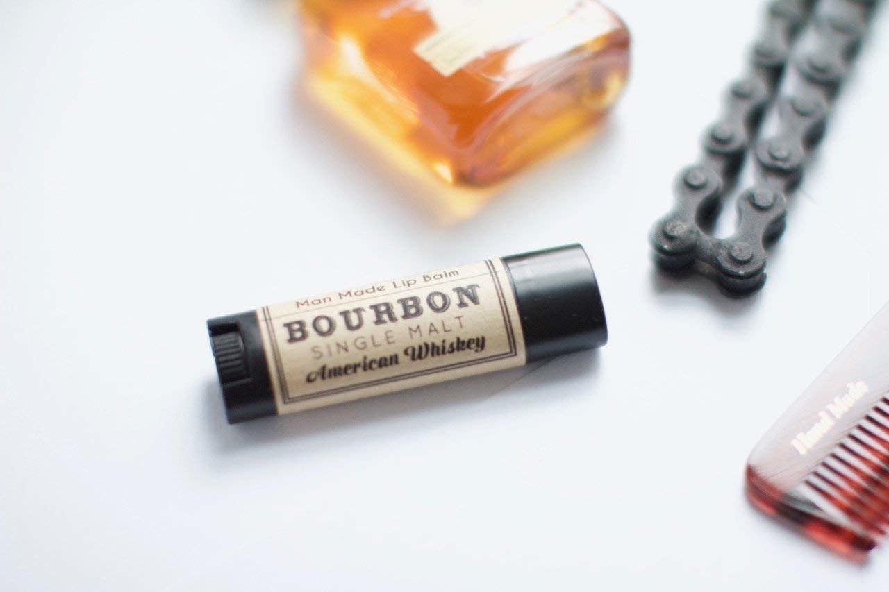 The bourbon lip balm