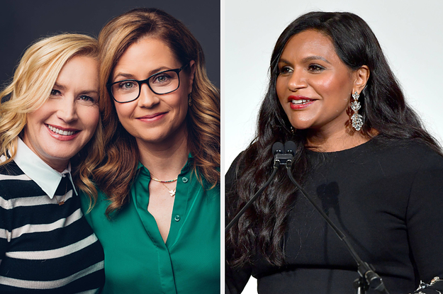 """The Office"" Stars Jenna Fischer And Angela Kinsey Spoke Out About That Mindy Kaling Emmys Snub"