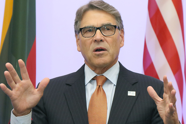 Energy Secretary Rick Perry Is Quitting After Being Subpoenaed In The Impeachment Probe