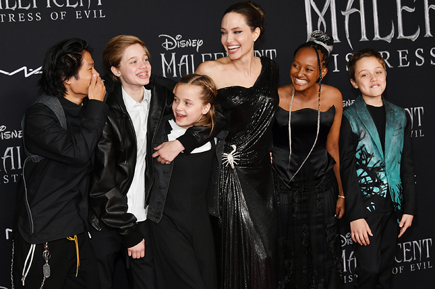 Angelina Jolie Says None Of Her Kids Are Interested In Acting Because They'd Rather Be Doing Humanitarian And Business Things