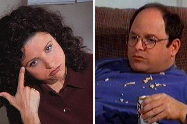 "Spend A Day Doing Nothing And We'll Tell You Which ""Seinfeld"" Character You Are"