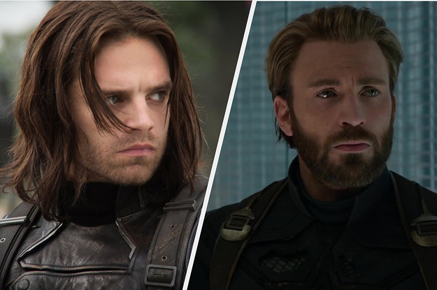 We Only Need 4 Questions To Figure Out If Youre More Like Steve Rogers Or Bucky Barnes