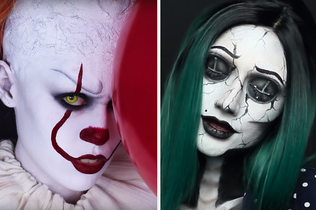 What Spooky Makeup Look Should You Try For Halloween?