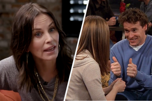 """Courteney Cox Couldn't Remember Who Joshua Was On """"Friends,"""" And I'm Cracking Up"""