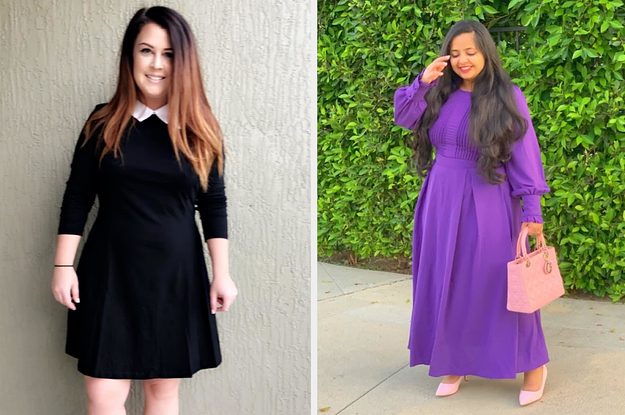 31 Long-Sleeve Dresses From Amazon You'll Actually Want To Wear