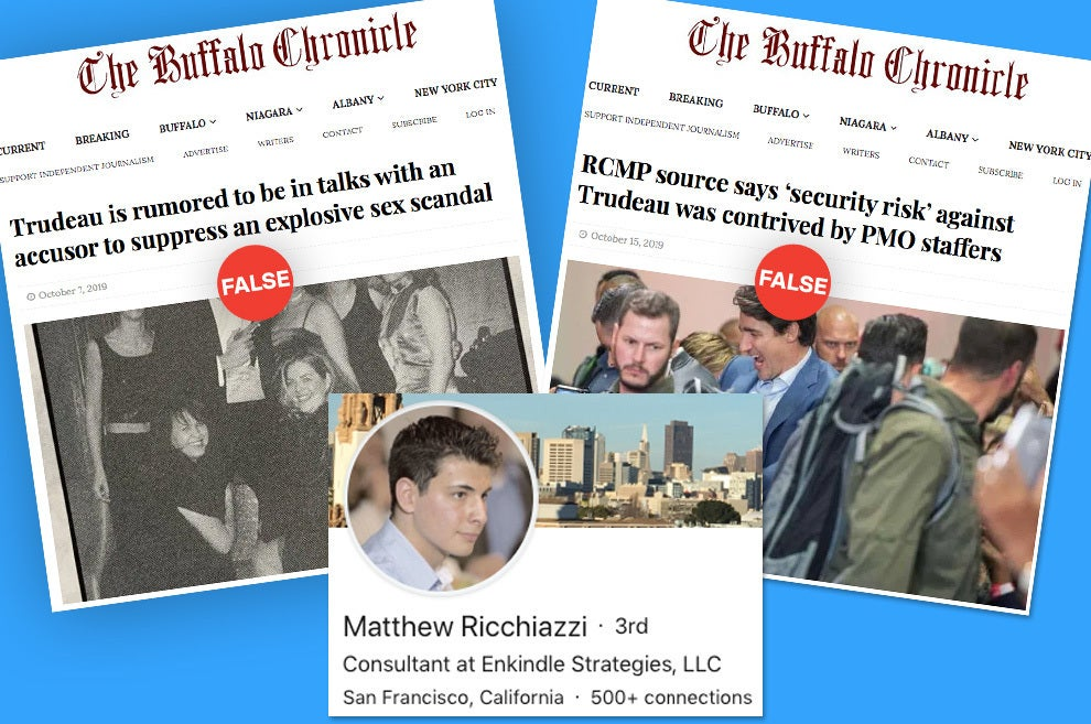 The Owner Of The Buffalo Chronicle Once Offered To Publish Negative Political Stories For Money