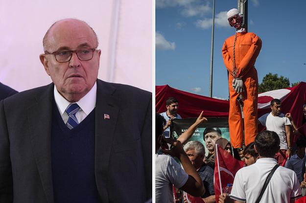 Turkish Trolls Working For Erdogan Hijacked Rudy Giuliani's Brain