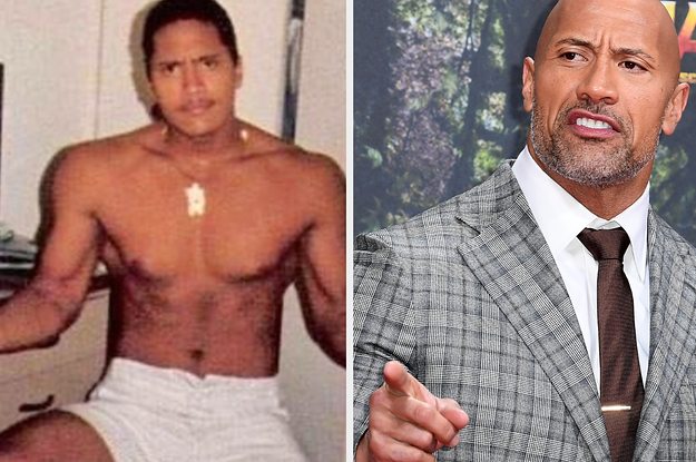 The Rock Is Claiming To Be 15-Years-Old In This Picture But Everyone Thinks He Looks 30