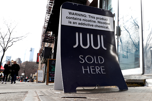 Juul Will Stop Selling Most Flavored E-Cigs — But Its Competitors Won't