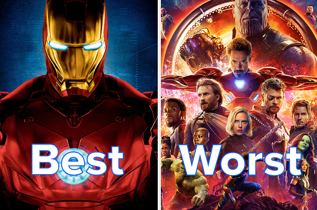 I Ranked All 23 Marvel Movies From Worst To Best So That You Dont Have To