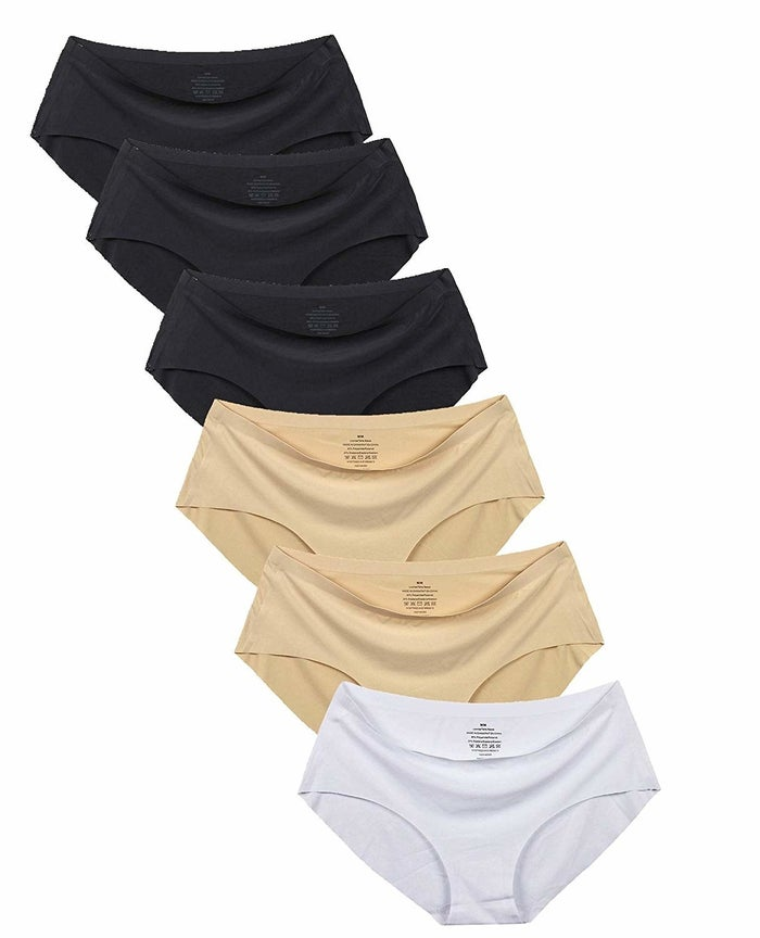 M /& S Sze 12 NO VPL Low Rise Shorts knickers panties briefs laser cut edges Pink