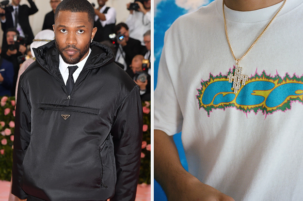 Frank Ocean Is Being Criticized For Selling A $60 T-Shirt With The Name Of An HIV Prevention Drug