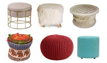 31 Unique Pouffes And Ottomans To Level Up Your Home Decor