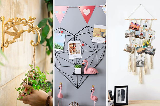 24 Gorgeous Items To Help You Decorate Your Bare Walls At Home