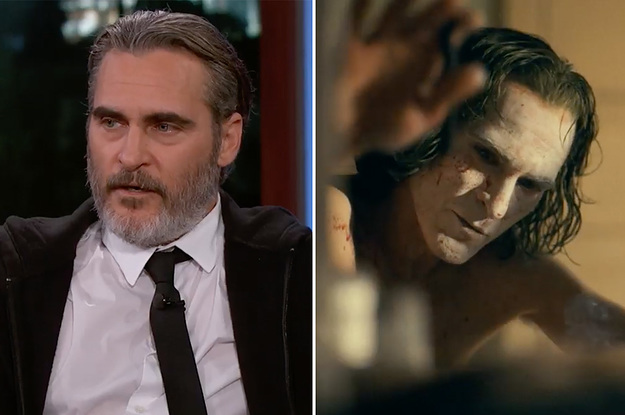 """Joaquin Phoenix Cursed Out A """"Joker"""" Crew Member On Set And Jimmy Kimmel Awkwardly Shared The Video"""