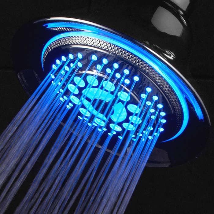 light up shower head