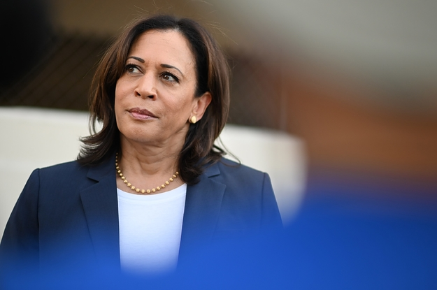 Why Kamala Harris Uses Female Pronouns When She Talks About The Presidency