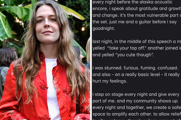 Maggie Rogers Called Out The Sexist Behavior That Happened During One Of Her Shows