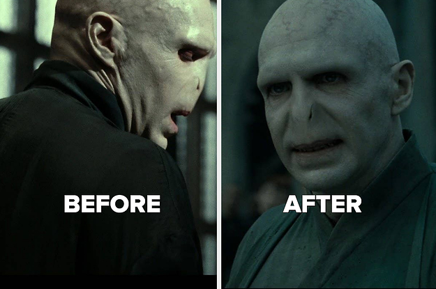 """I Never Noticed This Detail About Voldemort's Robes Fading And I've Watched """"Harry Potter"""" 1,000 Times"""