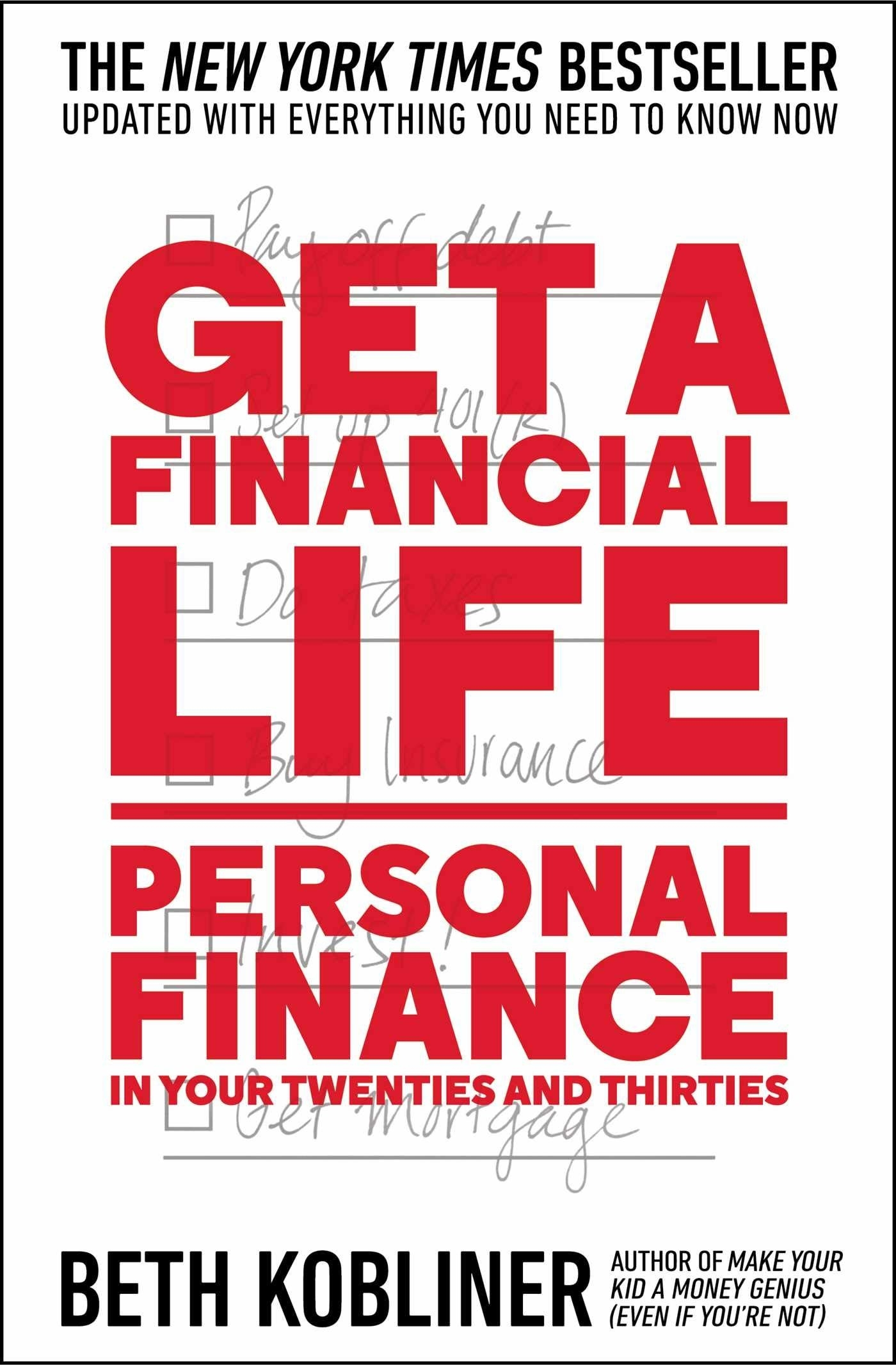 the cover of the personal finance book