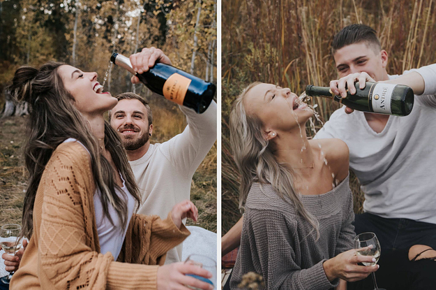 This Couple Tried To Recreate A Pinterest Engagement Photo. They Failed Spectacularly.