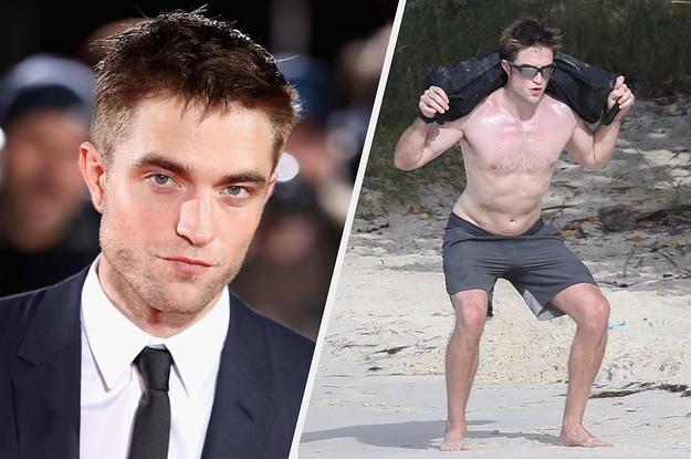 Resultado de imagem para Robert Pattinson workout to play batman