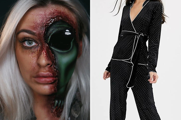 Build An All-Black Outfit And We'll Give You A Perfect Makeup Look For Halloween