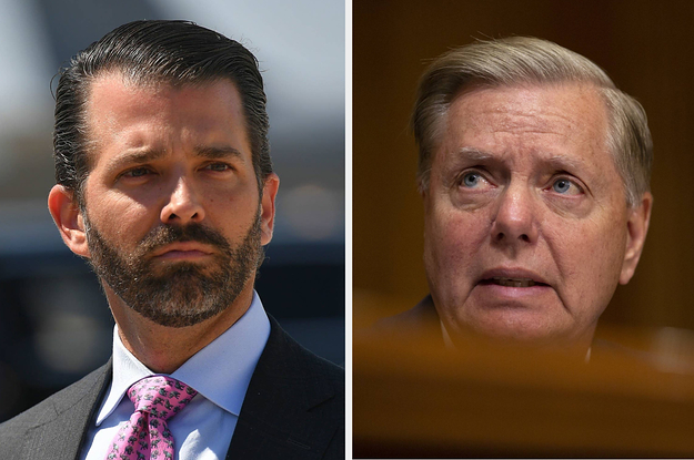 Donald Trump Jr. And MAGA Twitter Are Pressuring Sen. Lindsey Graham To Defend Trump From Impeachment