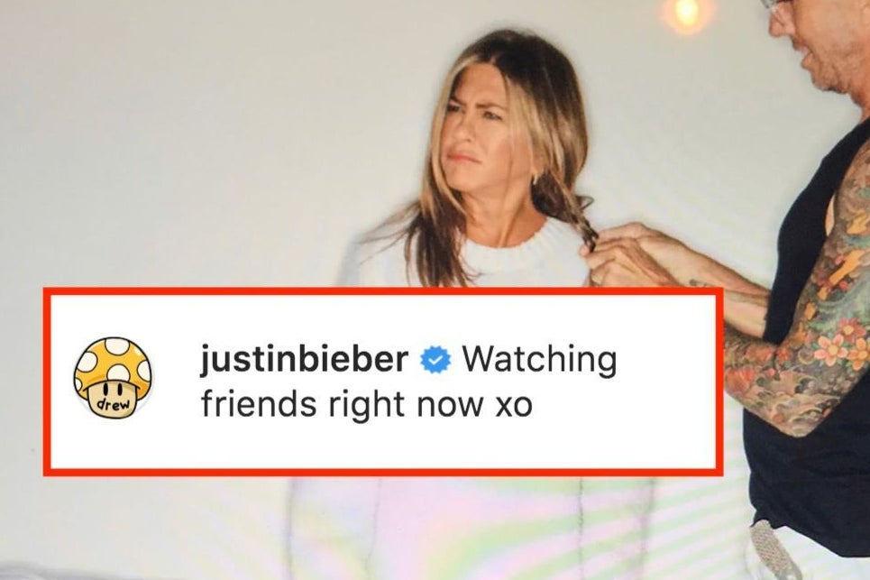 A Brief Investigation Into The Random Comments Left By Famous People On Jennifer Aniston's Instagrams