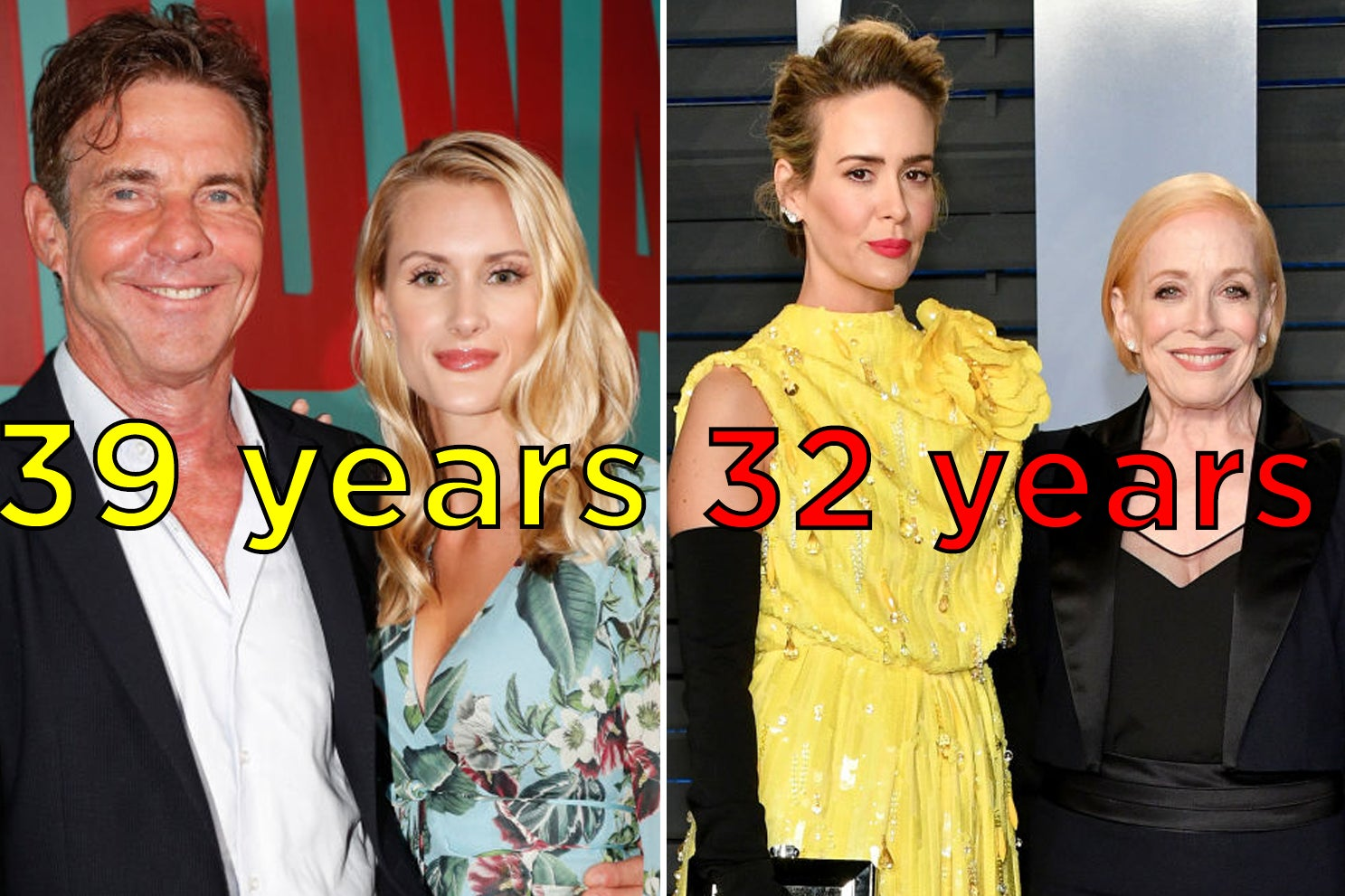 16 Celebrity Couples With Age Differences Of Two Or More Decades