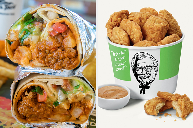 Here's Everything Vegans Can Order At Fast Food Restaurants