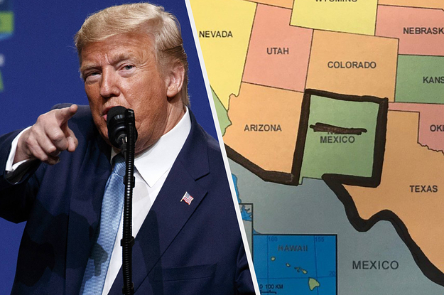 Trump Said Hes Building A Wall In Colorado And No One Knows What Hes Talking About
