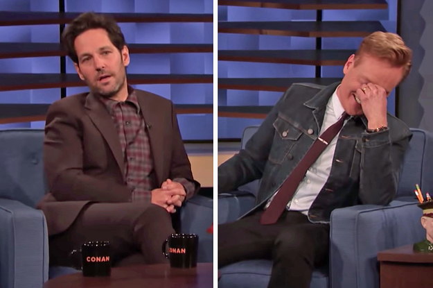 """Paul Rudd Has Been Pranking Conan O'Brien With This """"Mac And Me"""" Clip For 15 Years And I, For One, Can't Stop Laughing"""