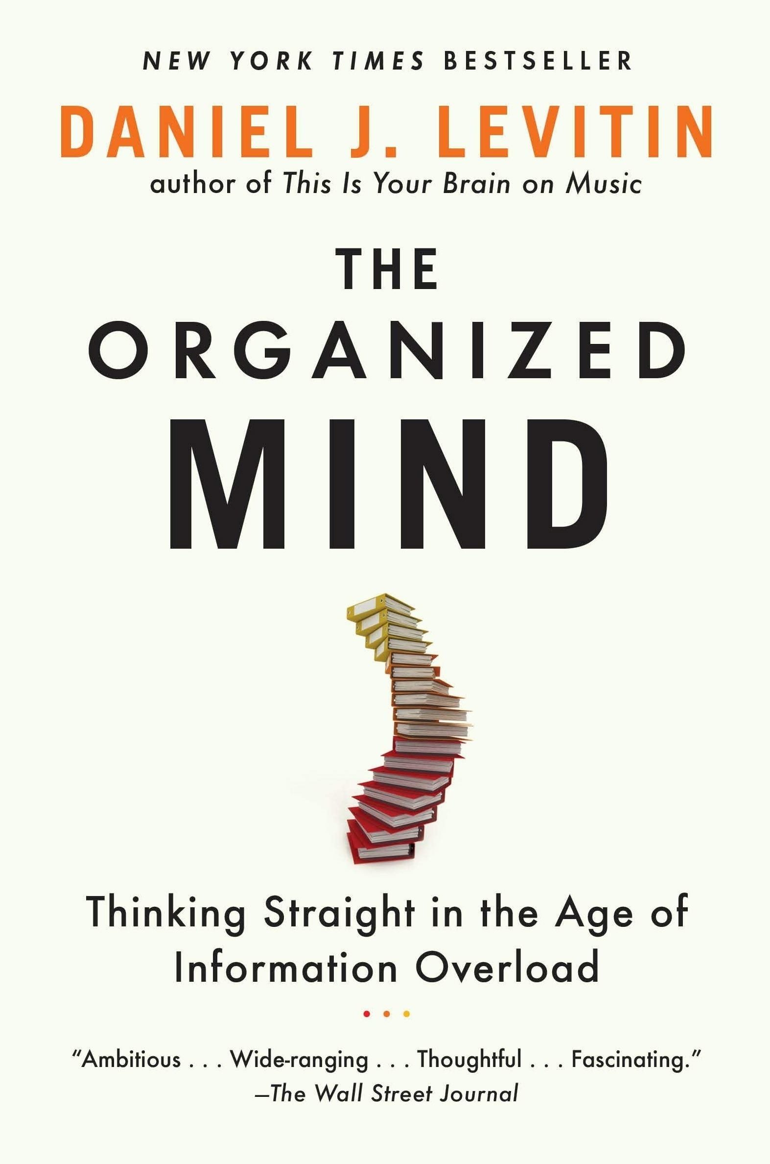 "the cover of ""The Organized Mind"""