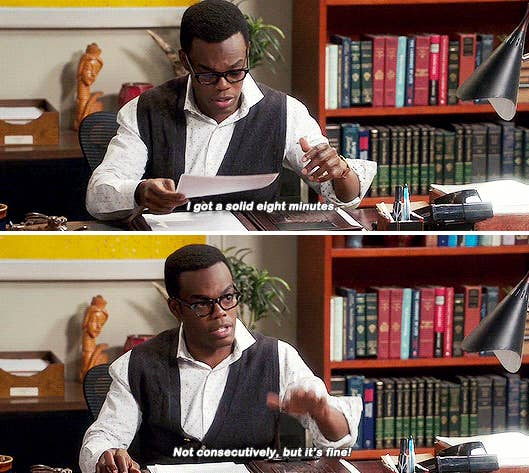 "18 Times Chidi From ""The Good Place"" Got Way, Way Too Real"