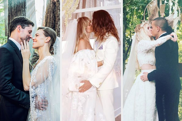The 62 Most Beautiful Celebrity Weddings Of The Decade