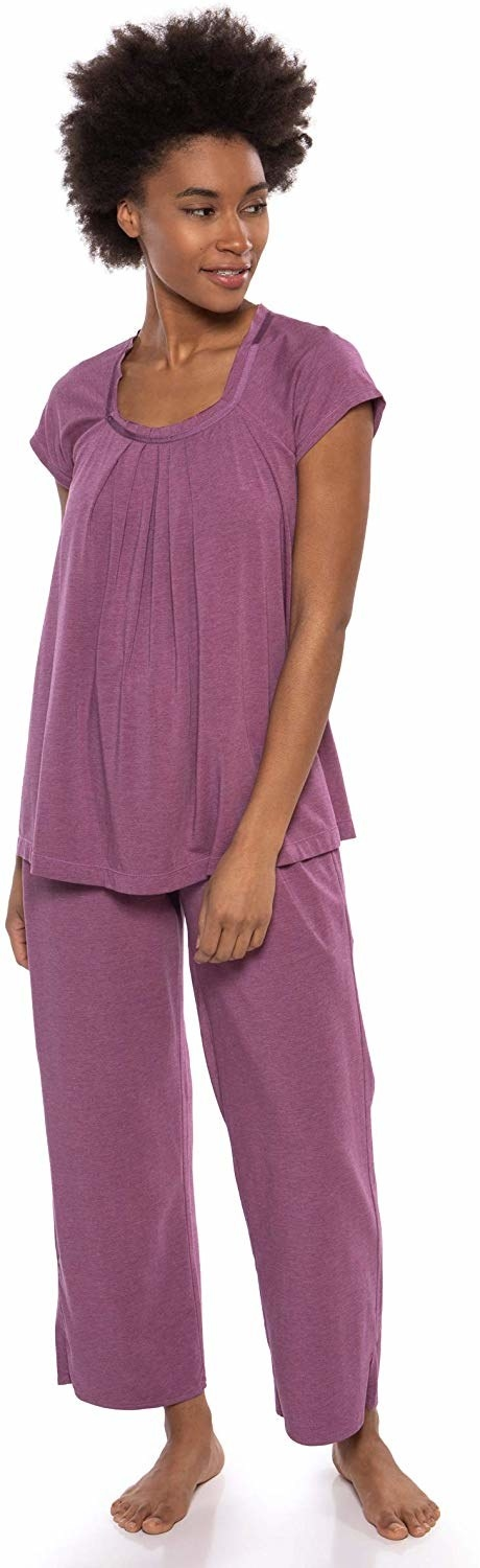 So Women/'s Pajama Top XS Violet