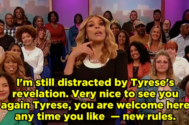 Wendy Williams Discovered That Her Ex-Husband Banned Tyrese Gibson From Her Show