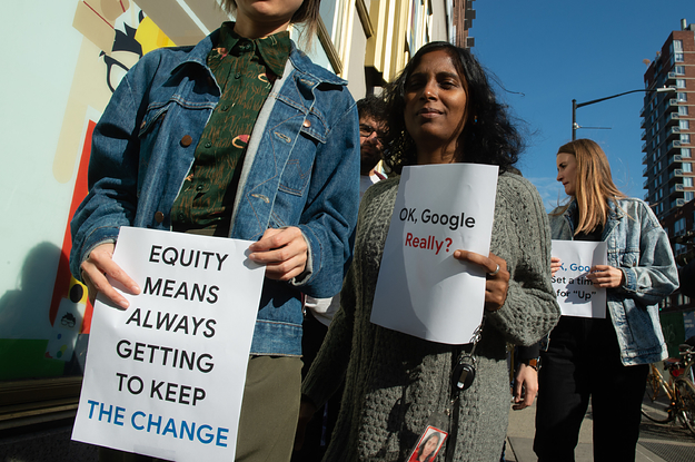 Google Removed Employee Questions About Its Hiring Of A Former DHS Staffer Who Defended The Muslim Travel Ban