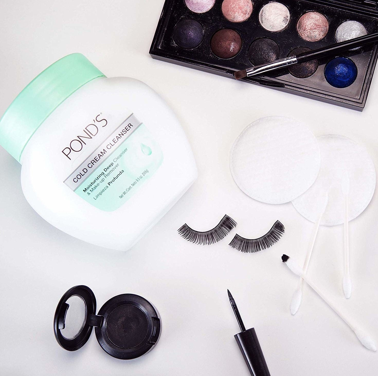 ponds cream with makeup