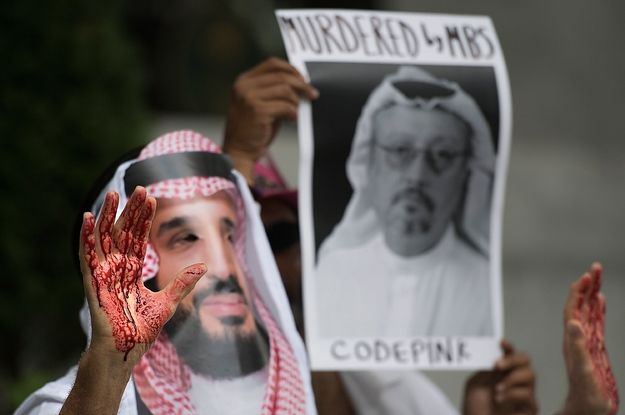 """A UK Minister Is Going To Mohammed Bin Salman's """"Davos In The Desert"""" But He Doesn't Want To Talk About The Murder Of Jamal Khashoggi"""