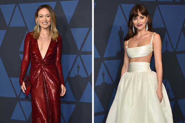 All The Red Carpet Looks From The 2019 Governors Awards