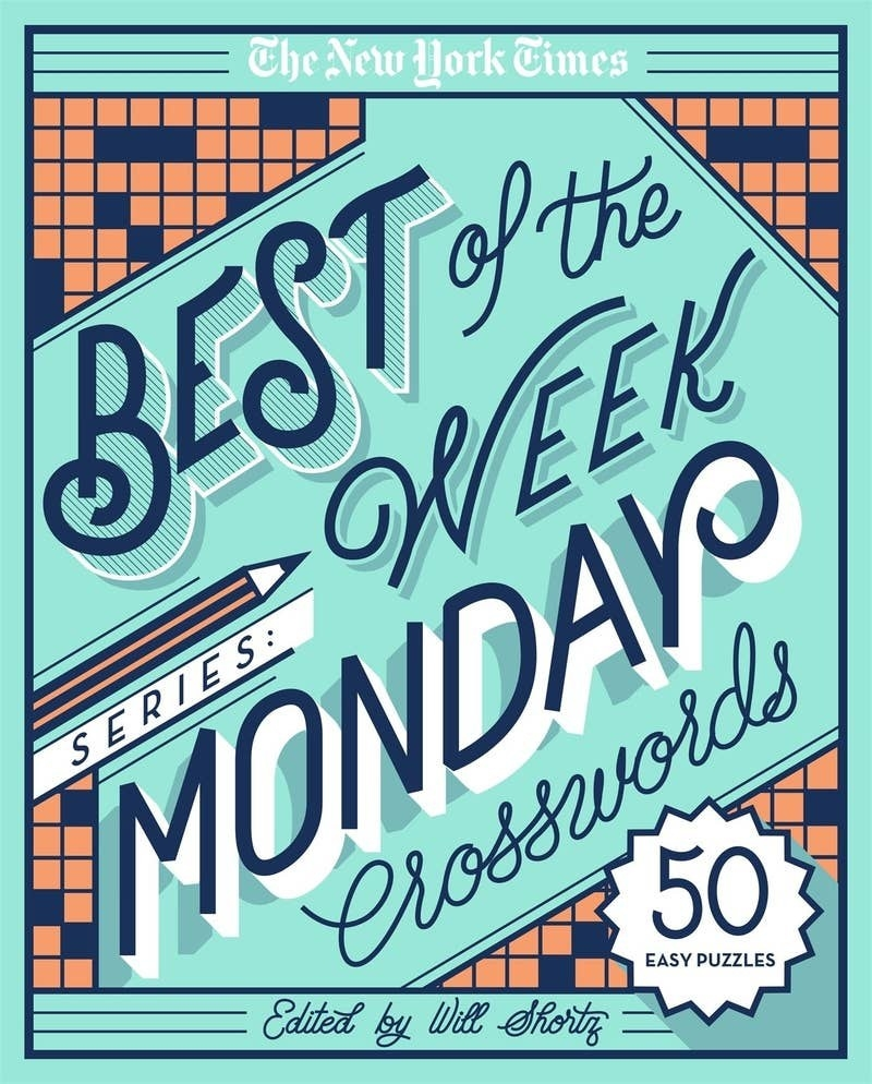 monday crossword puzzle book edited by will shortz with 50 puzzles