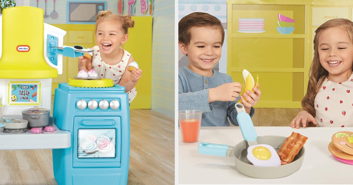 Tasty's New Little Tikes Toys Are Perfect For Tiny Aspiring Chefs thumbnail