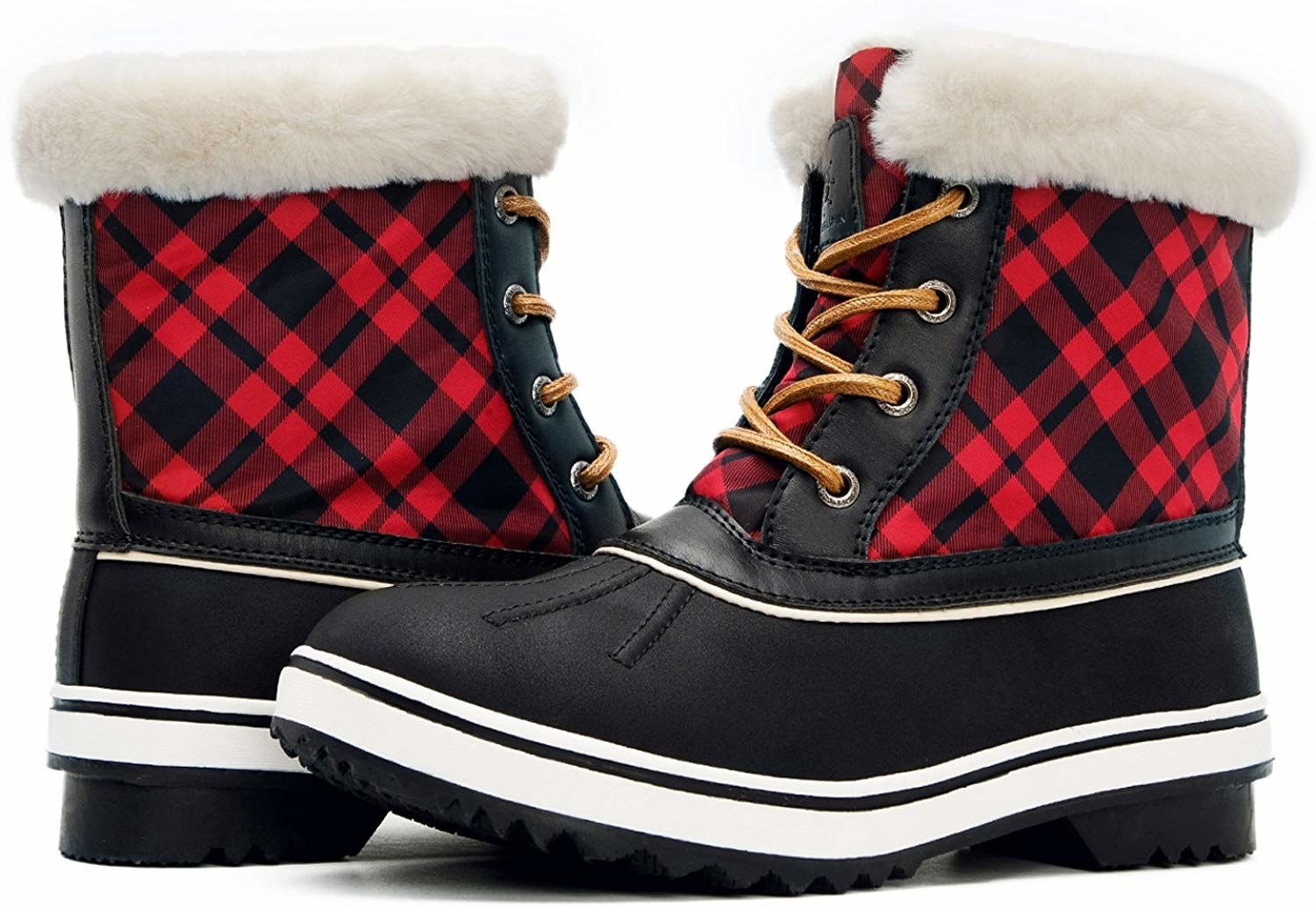 Sorel Womens The Campus Mid-Height Plaid Boot