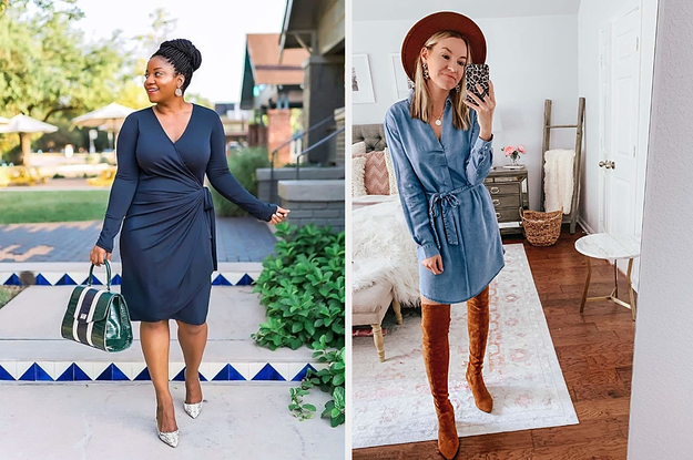 These 32 Fall Dresses From Amazon Are *So* Cute And We Have The Receipts To Prove It